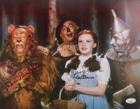 "Donna Stewart-Hardway, Jerry Maren, & Karl Slover Signed ""The Wizard of Oz"" 11x14 Photo (JSA COA) (See Description) at PristineAuction.com"