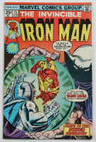 """Vintage 1975 """"Iron Man"""" Vol. 1 Issue #75 Marvel Comic Book (See Description) at PristineAuction.com"""