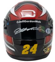 Jeff Gordon Signed NASCAR 1:3 Scale Mini Helmet (Beckett COA) at PristineAuction.com