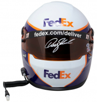 Denny Hamlin Signed NASCAR FedEx Full-Size Helmet (PA Hologram & Beckett COA) at PristineAuction.com
