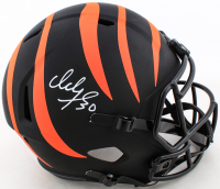 Ickey Woods Signed Bengals Full-Size Eclipse Alternate Speed Helmet (Beckett COA) at PristineAuction.com