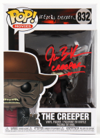 """Jonathan Breck Signed """"Jeepers Creepers"""" #832 The Creeper Funko Pop! Vinyl Figure Inscribed """"Creeper"""" (Beckett COA) at PristineAuction.com"""