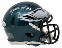 Jalen Reagor Signed Eagles Speed Mini Helmet (Beckett COA) at PristineAuction.com