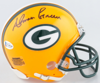 Ahman Green Signed Packers Mini Helmet (Beckett COA) at PristineAuction.com