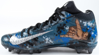 "Lorenzo Alexander Signed Pair of Game-Used Nike Football Cleats Inscribed ""2016 Pro Bowl"" & ""Salute to Our Military Heroes"" (PSA Hologram) at PristineAuction.com"