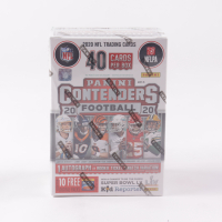 2020 Panini Contenders Football Blaster Box with (5) Packs (See Description) at PristineAuction.com