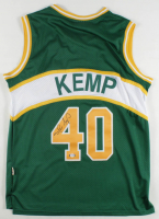 Shawn Kemp Signed Supersonics Jersey (PSA COA) at PristineAuction.com