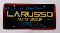 """Ralph Macchio Signed """"The Karate Kid"""" LaRusso Auto Group License Plate Inscribed """"We Kick The Competition"""" (ACOA Hologram) at PristineAuction.com"""