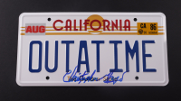 "Christopher Lloyd Signed ""Back to the Future"" California License Plate (ACOA COA) at PristineAuction.com"