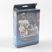 2020 Bowman Platinum Baseball Hanger Box with (24) Cards (See Description) at PristineAuction.com