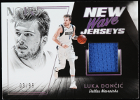 Luka Doncic 2018-19 Panini Noir New Wave Jerseys #1 at PristineAuction.com