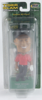 "2002 Tiger Woods ""Tiger Slam"" Bobble Head Figure With Sealed Upper Deck Card at PristineAuction.com"