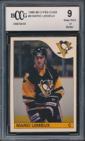Mario Lemieux 1985-86 Topps #9 RC (BCCG 9) at PristineAuction.com
