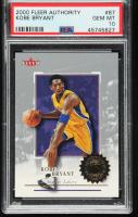 Kobe Bryant 2000-01 Fleer Authority #87 (PSA 10) at PristineAuction.com