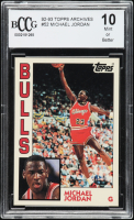 Michael Jordan 1992-93 Topps Archives #52 (BCCG 10) at PristineAuction.com