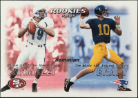 Tom Brady RC / Giovanni Carmazzi RC 2000 SkyBox Dominion #234 at PristineAuction.com