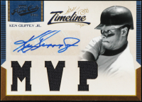 Ken Griffey Jr. 2011 Prime Cuts Timeline Materials Custom City Signatures #22 at PristineAuction.com