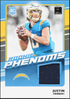 Justin Herbert 2020 Donruss Optic Rookie Phenoms Jerseys #3 at PristineAuction.com