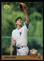 Derek Jeter 1993 Upper Deck #449 RC at PristineAuction.com