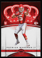 Patrick Mahomes II 2017 Crown Royale #84 RC at PristineAuction.com