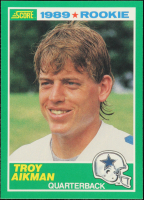 Troy Aikman 1989 Score #270 RC at PristineAuction.com