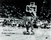 "Dee Brown Signed Celtics 16x20 Photo Inscribed ""91 NBA Slam Dunk Champ!"" (TriStar Hologram) at PristineAuction.com"