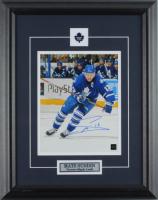 Mats Sundin Signed Maple Leafs 15.5x19.5 Custom Framed Photo Display (COJO COA) at PristineAuction.com