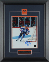 Paul Coffey Signed Oilers 15.5x19.5 Custom Framed Photo Display (COJO COA) at PristineAuction.com