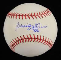 "Bernie Williams Signed OML Baseball Inscribed ""SDG"" (Real Deal COA) at PristineAuction.com"
