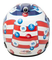Kyle Busch Signed NASCAR M&M's Patriotic Full-Size Helmet (PA COA & Beckett COA) at PristineAuction.com