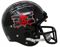 """Burt Reynolds Signed """"The Longest Yard"""" Mean Machine Full-Size Helmet Inscribed """"Coach Scarborough"""" (Beckett COA) at PristineAuction.com"""