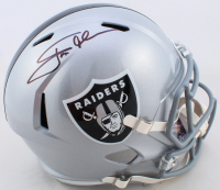 Jon Gruden Signed Raiders Full-Size Speed Helmet (JSA COA) at PristineAuction.com