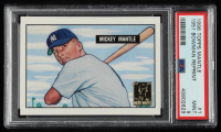 Mickey Mantle 1996 Topps Mantle #1 1951 Bowman (PSA 9) at PristineAuction.com