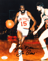 "Earl Monroe Signed Knicks 8x10 Photo Inscribed ""The Pearl"" (JSA COA) at PristineAuction.com"