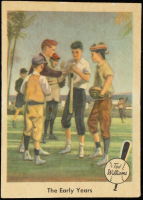Ted Williams 1959 Fleer #1 The Early Years at PristineAuction.com