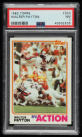 Walter Payton 1982 Topps #303 IA (PSA 7) at PristineAuction.com