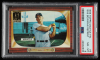 Mickey Mantle 1996 Topps Mantle #5 1955 Bowman (PSA 8) at PristineAuction.com