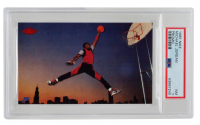 Michael Jordan 1985 Nike #2 (PSA 7) at PristineAuction.com