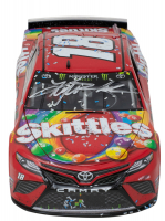 Kyle Busch Signed NASCAR #18 Skittles 2019 Camry 1:24 Premium Action Diecast Car (PA Hologram & Beckett COA) at PristineAuction.com