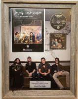 """Eli Young Band """"Drunk Last Night"""" 20.5x27 Custom Framed #1 Song Award at PristineAuction.com"""