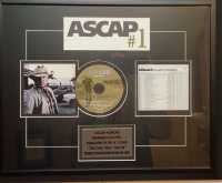 """Jason Aldean """"The Only Way I Know"""" 18x22 Custom Framed ASCAP Honors Award at PristineAuction.com"""