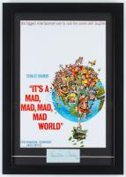 "Milton Berle Signed ""It's a Mad Mad Mad Mad World"" 15x21 Custom Framed Cut Display (JSA LOA) at PristineAuction.com"