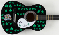 "Cheech Marin & Tommy Chong Signed 38"" Acoustic Guitar (JSA COA) at PristineAuction.com"