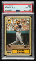 Barry Bonds 1987 Topps #320 RC (PSA 10) at PristineAuction.com