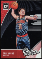 Trae Young 2018-19 Donruss Optic The Rookies #5 at PristineAuction.com