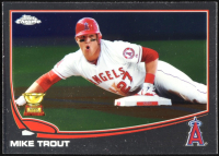 Mike Trout 2013 Topps Chrome Refractors #1 at PristineAuction.com