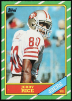 Jerry Rice 1986 Topps #161 RC at PristineAuction.com