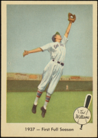 Ted Williams 1959 Fleer #8 1937 First Full Season at PristineAuction.com