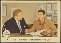 Ted Williams 1959 Fleer #55 Retirement No Go at PristineAuction.com