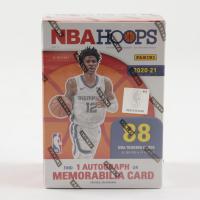 2020-21 Panini NBA Hoops Basketball Blaster Box with (11) Packs at PristineAuction.com